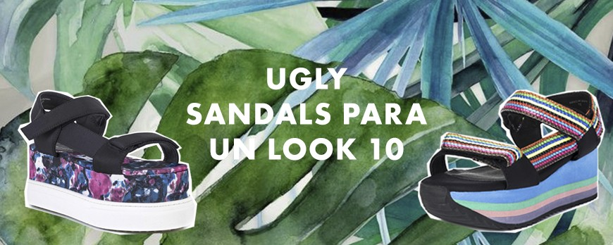 Ugly sandals para un look 10